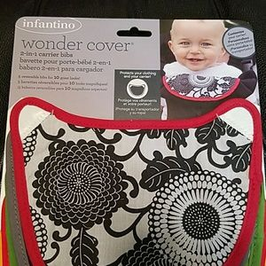 Bib covers for Infantino carrier